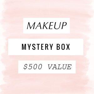 $500 OF BRAND NEW MAKEUP MYSTERY BOX DRUGSTORE